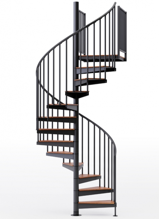 Amazing Black Spiral Staircase Picture 460