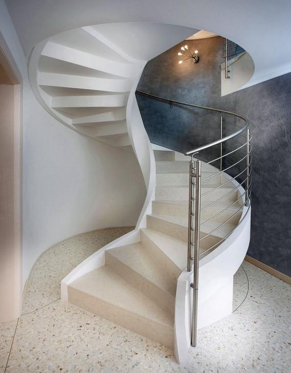 Amazing Concrete Circular Staircase Image 953