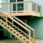 Amazing Deck Stairs Design Image 084