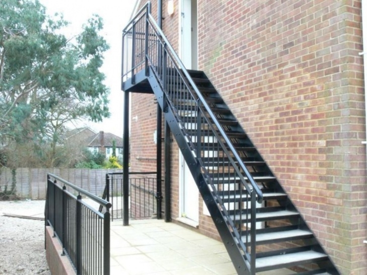 Amazing Exterior Metal Stairs Picture 697