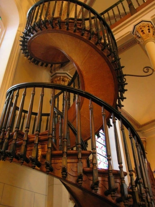 Amazing Impossible Spiral Staircase Photo 646