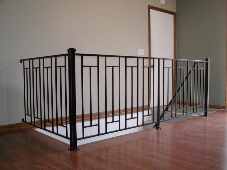 Amazing Interior Metal Railing Photo 523