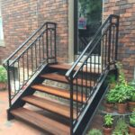 Amazing Outdoor Stair Railings Image 656