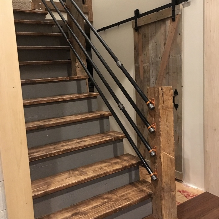 Amazing Remodeling Basement Stairs Picture 649