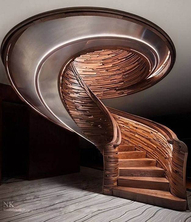 Amazing Staircase Down Design Image 190