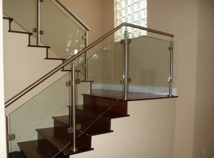 Amazing Steps Railing Designs With Glass Picture 887