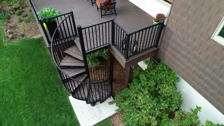 Amazing Trex Spiral Stairs Picture 616