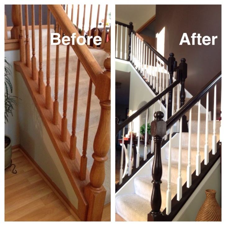 Amazing Updating Staircase Spindles Picture 707