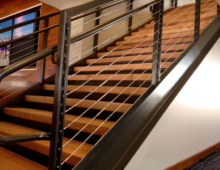 Amazing Wire Stair Railing Image 394
