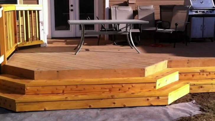 Amazing Wood Deck Steps Picture 803