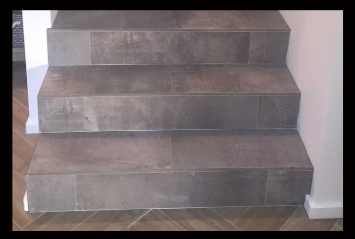 Amazing Wood Look Tile On Stairs Image 935