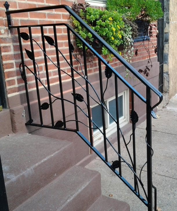 Amazing Wrought Iron Handrails For Outdoor Steps Near Me Picture 218