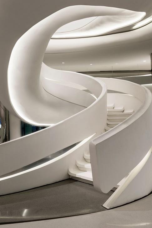 Amazing Zaha Hadid Stair Photo 792