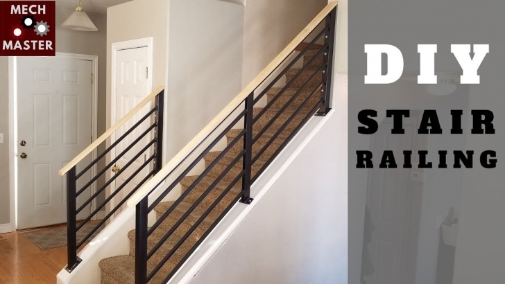 Amazingly Diy Handrails For Interior Stairs Photo 394
