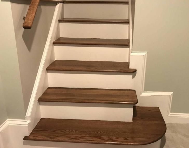 Amazingly Finishing Stairs With Hardwood Image 522
