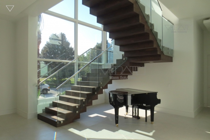 Amazingly Glass Staircase Near Me Photo 208