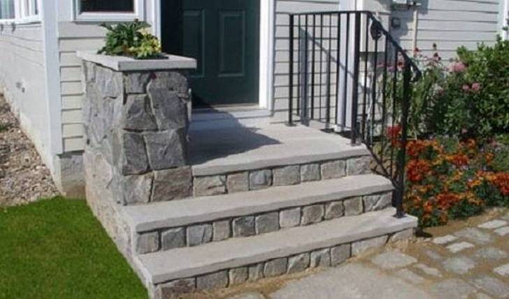 Amazingly House Entrance Steps Designs Photo 988