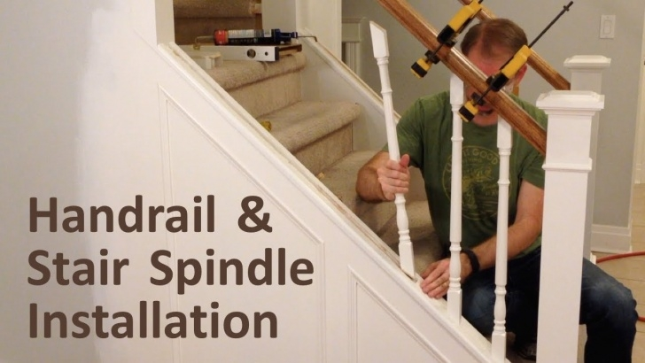 Amazingly Installing Newel Post And Spindles Image 754