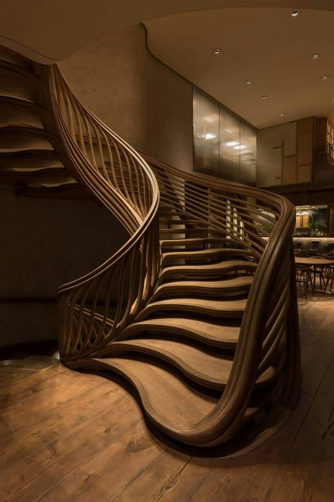 Amazingly Modern Grand Staircase Photo 161
