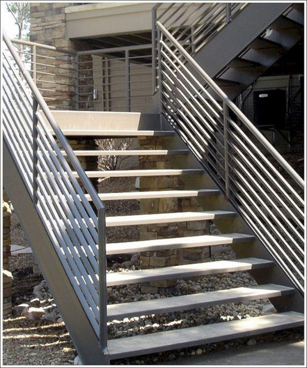 Amazingly Outdoor Stairs Design Picture 802