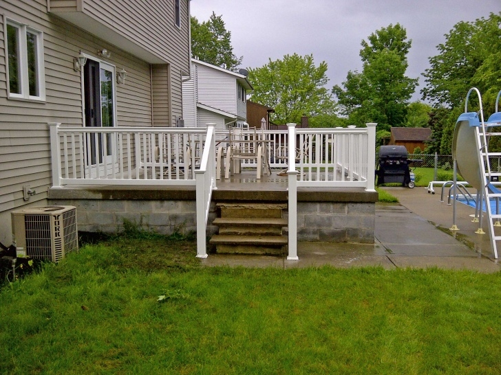 Amazingly Railing For Concrete Patio Image 292