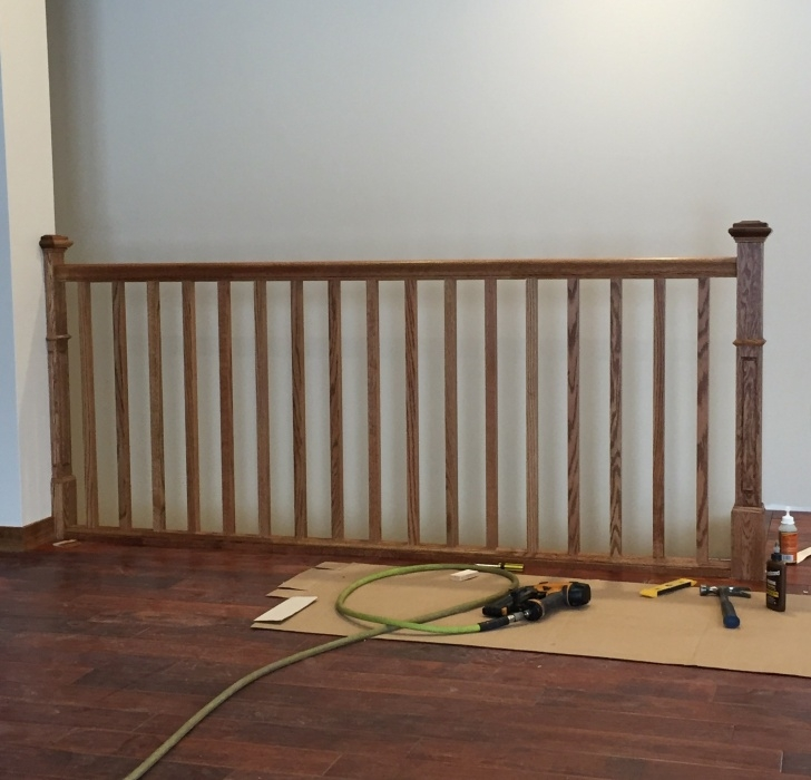 Amazingly Replacing Stair Railing Photo 323