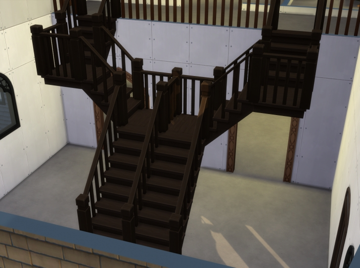 Amazingly Sims 4 Stair Railing One Side Picture 230
