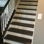 Amazingly Staining Stair Treads Picture 104