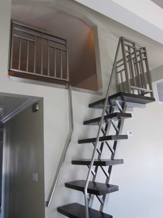 Amazingly Steel Ladder Design For Home Picture 101