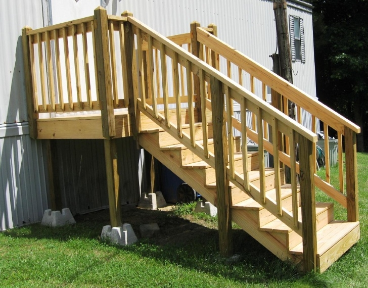 Amazingly Steps For Mobile Homes Outdoor Photo 827