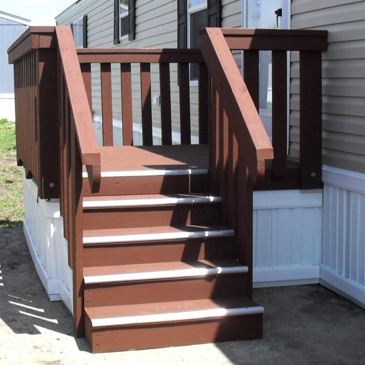 Amazingly Wood Mobile Home Steps Image 545