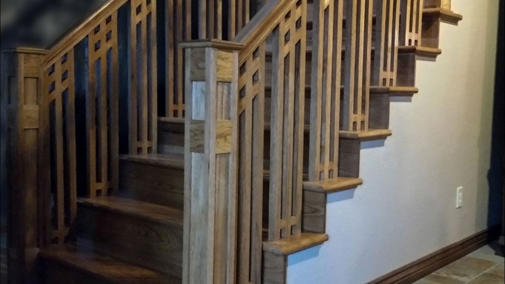 Awesome Craftsman Style Stair Railing Picture 432