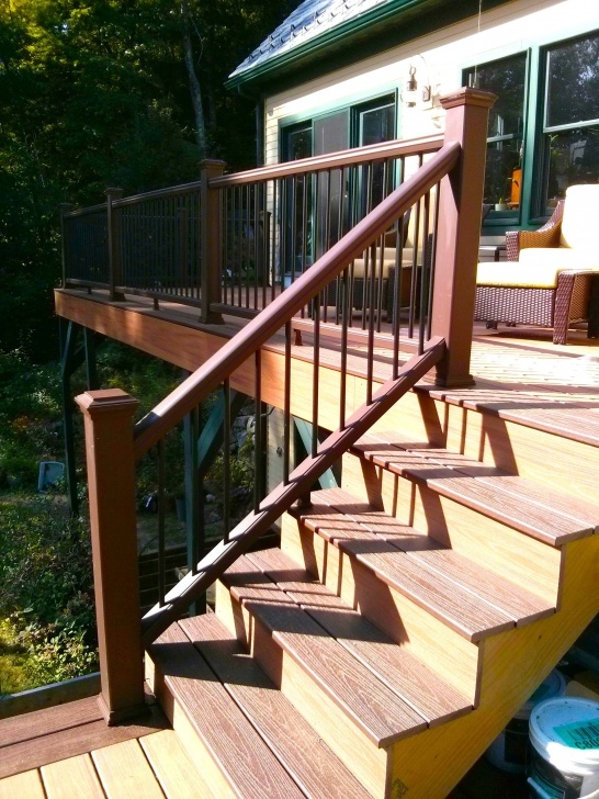 Awesome Deck Stair Railing Photo 898
