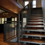 Awesome Industrial Stair Railing Image 937