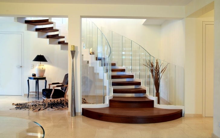 Awesome Interior Stairs Design Photo 477