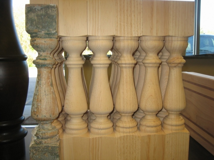 Awesome Large Wood Balusters Picture 965