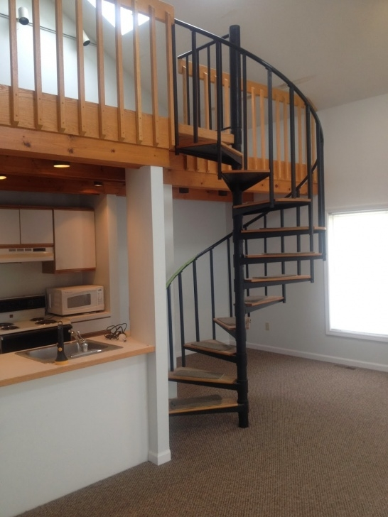 Awesome Loft Spiral Staircase Picture 325
