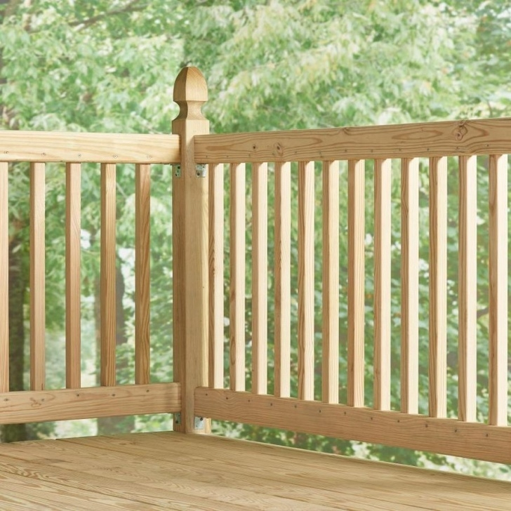 Awesome Lowes Wood Handrail Photo 040