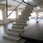 Awesome Modern Concrete Stairs Image 012