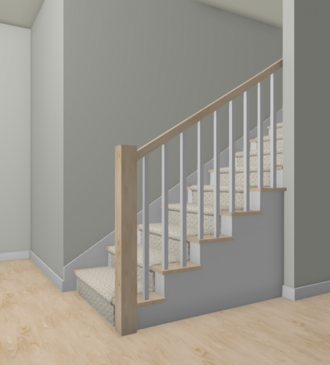 Awesome New Stair Railing Photo 313
