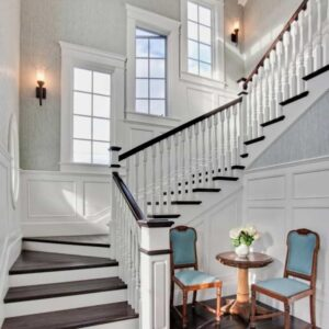 Staircase Wall Window Design