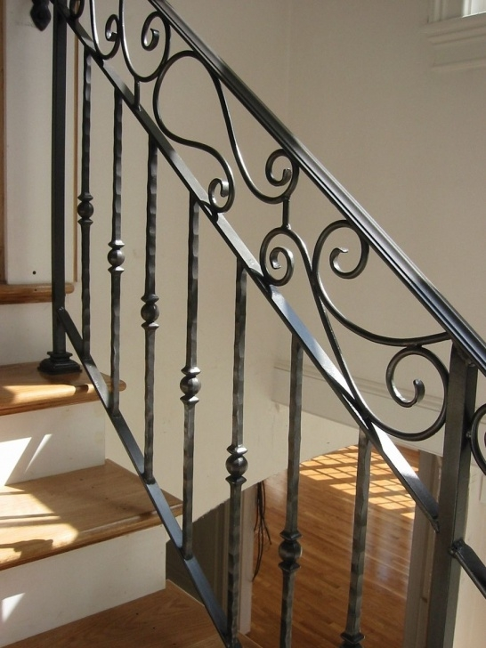 Awesome Stairs Railing Designs In Iron Image 074