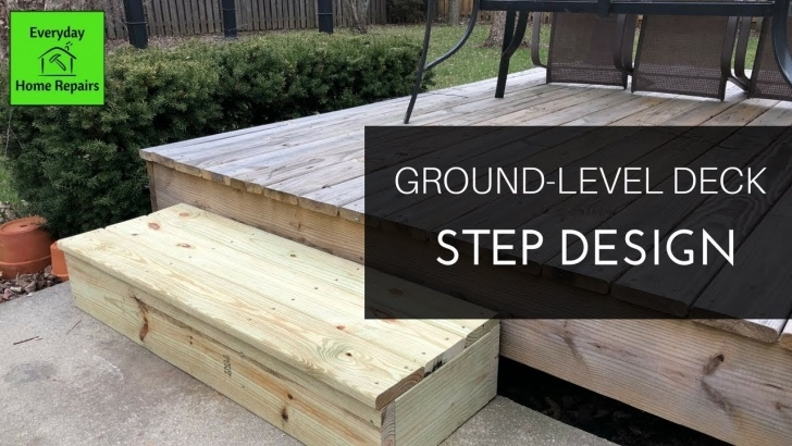Awesome Wood Deck Steps Picture 412