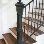 Awesome Wrought Iron Newel Post Photo 117
