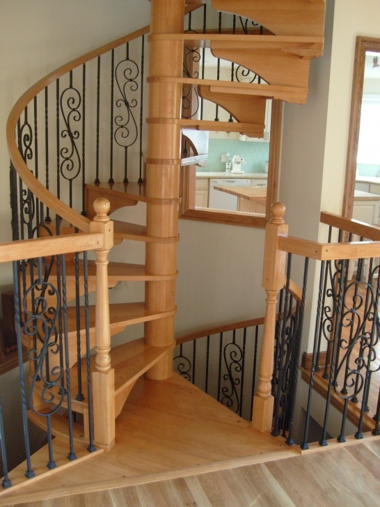 Awesome Wrought Iron Spiral Staircase Image 603
