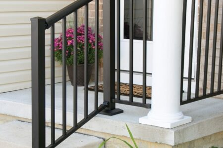 Aluminum Outdoor Stair Railing