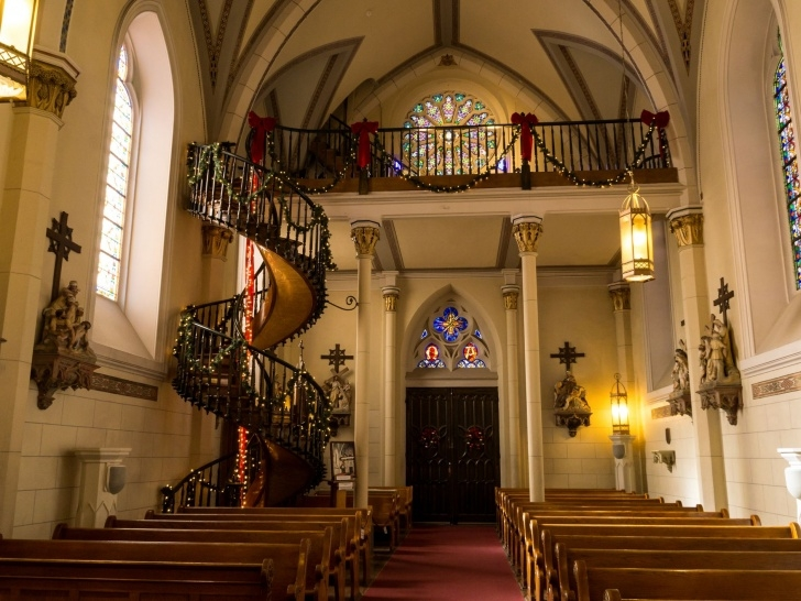 Best Chapel With Spiral Staircase Photo 381