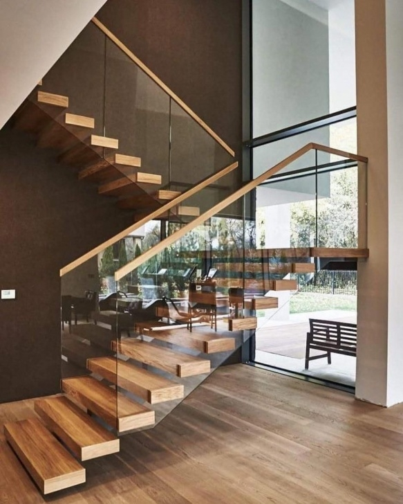 Best Cool House Stairs Design Photo 267