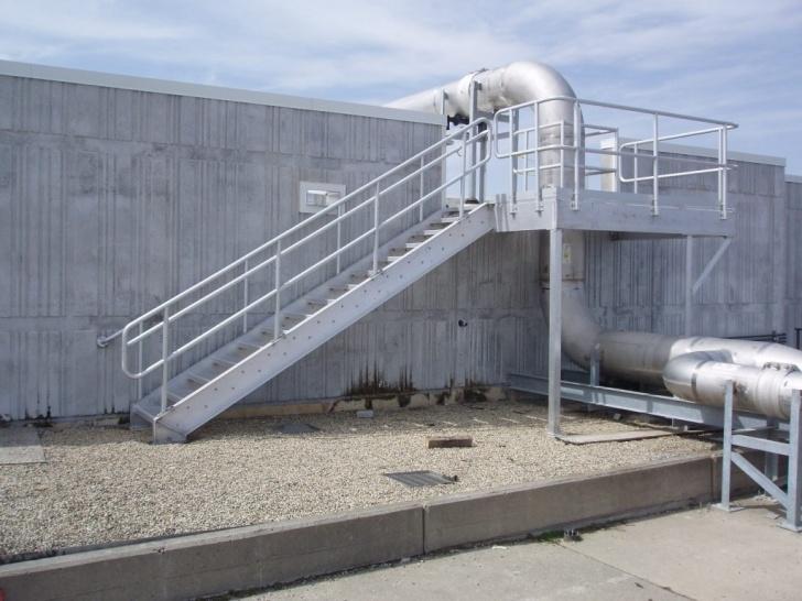 Best Cool Metal Grate Stairs Image 074