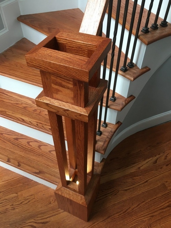Best Cool Newel Post Designs Photo 428
